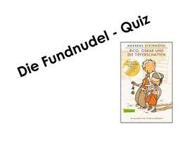 quiz zu rico, oskar und die tieferschatten - powerpoint - unterrichtsmaterial im fach deutsch