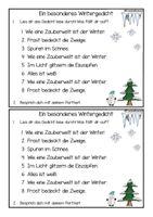 Winter rondell gedicht Rondell (poem)