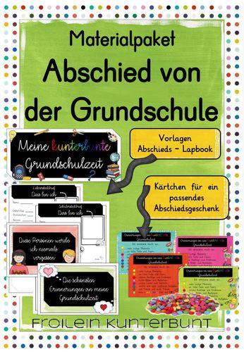 Materialpaket Abschied Von Der Grundschule