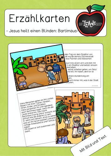 Jesus heilt einen Blinden - Bartimäus ...