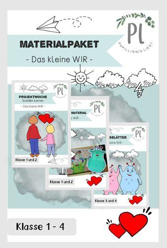 """materialpaket """"das kleine wir"""" klasse 14"""