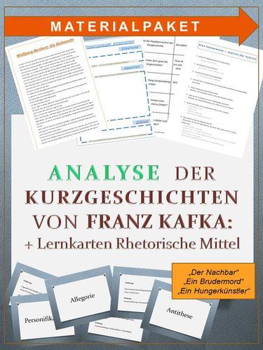 Kurzgeschichten von Franz Kafka: Textanalyse und
