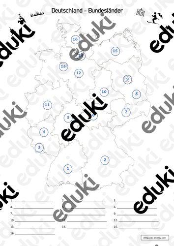 Hauptstadt deutschland bundesländer Bundesländer Deutschlands