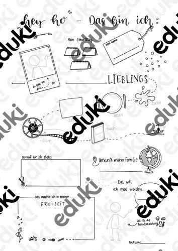 Schüler vorlage steckbrief Alltagspädagogik Schüler