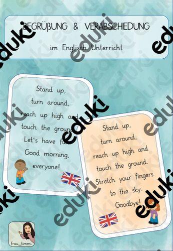 Englisch verabschiedung brief Gruß